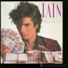 Discos de vinilo: SINGLE DE LAIN. BISNES. BUSSINES. . Lote 28097525