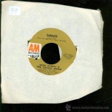 Discos de vinilo: SINGLE DE SANDBOX. HERB ALBERT & THE TIJUANA BRASS. . Lote 28097537