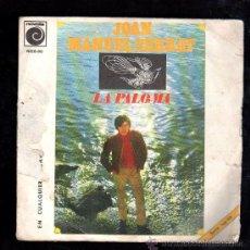 Discos de vinilo: SINGLE DE JOAN MANUEL SERRAT. LA PALOMA. Lote 28099339