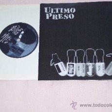 Discos de vinilo: ULTIMO PRESO - EP 8 TEMAS PUNK RADIKAL SPAIN 2005 MEGA RARE *NUEVO*CON LIBRETO. Lote 28100198