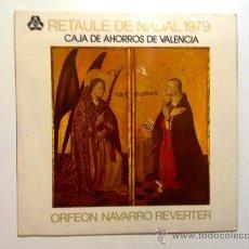 Disques de vinyle: RETAULE DE NADAL 1979 Y 1980. ORFEON NAVARRO REVERTER. Lote 28100773
