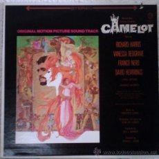 Discos de vinilo: LERNER & LOEWE / VANESSA REDGRAVE, RICHARD HARRIS – CAMELOT - BSO - LP US 1968. Lote 28103631