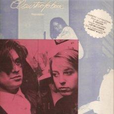 Discos de vinilo: LP CLAUSTROFOBIA - REPULSION (INCLUYE LA PARTICIPACION DE ROBERT WYATT , VOZ Y PERCUSION ). Lote 28104321