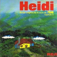 Discos de vinilo: SINGLE - HEIDI BSO DE LA SERIE DE RTVE - CAPÍTULO 2. Lote 28107006