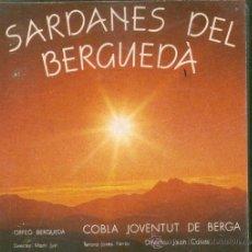 Discos de vinilo: BERGA. DISC SARDANES DEL BERGUEDÀ. Lote 145512708