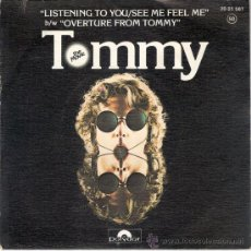 Discos de vinilo: THE WHO - LISTENING TO YOU/SEE ME FEEL ME + 1 (45 RPM) POLYDOR 1975 - VG++/EX. Lote 28109107