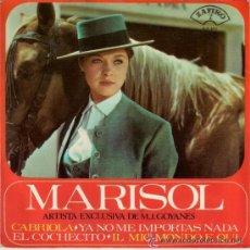 Discos de vinilo: MARISOL - EP E TEMAS -EL COCHECITO - CABRIOLA - ZAFIRO 1965. Lote 28110453