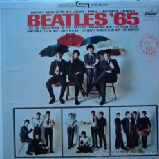 Discos de vinilo: THE BEATLES, BEATLES`65, REED 70`S DE USA, ETIQUETA NARANJA. Lote 28158319
