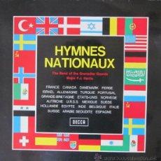 Discos de vinilo: HYMNES NATIONAUX - HIMNOS NACIONALES - 1959. Lote 28122074