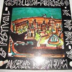 Discos de vinilo: VI FESTIVAL CASTELLANO - MANCHEGO / 1990 LADY ALICIA RECORDS . Lote 95549584