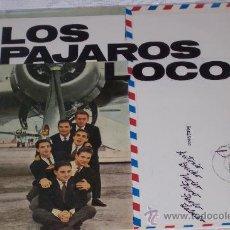 Disques de vinyle: LOS PAJAROS LOCOS LP SUS PRIMEROS EXITOS (14 TEMAS) COCODRILO ESTADO NUEVO. Lote 28126212