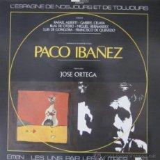 Discos de vinilo: PACO IBÁÑEZ - LES UNS PAR LES AUTRES - ED. FRANCESA ILUSTRADO POR JOSÉ ORTEGA (A ESTRENAR). Lote 76218735