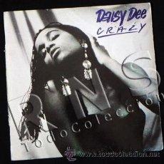 Discos de vinilo: DISCO VINILO 33 RPM - DAISY DEE - CRAZY - MÚSICA DANCE - CANTANTE - OTROS DISCOS EN VENTA. Lote 28133576