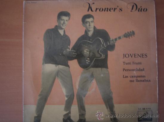 KRONER'S DUO - JÓVENES - EP (Música - Discos de Vinilo - EPs - Pop - Rock Extranjero de los 50 y 60)