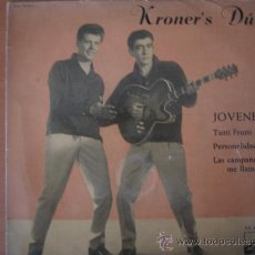 Discos de vinilo: KRONER'S DUO - JÓVENES - EP. Lote 28135090