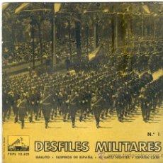 Discos de vinilo: DISCO DE DESFILES MILITARES . Lote 28137747