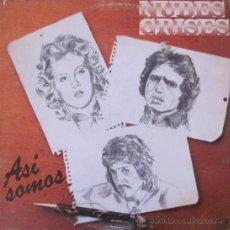 Discos de vinilo: NUBES GRISES - ASÍ SOMOS - 1978. Lote 28138322