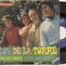 Discos de vinilo: SINGLE 45 RPM / LOS DE LA TORRE / YO TE DARE /// EDITADO POR VERGARA . Lote 28141079