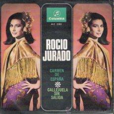 Dischi in vinile: SINGLE DE ROCÍO JURADO, DE 1967. Lote 28141285