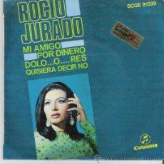 Dischi in vinile: SINGLE DE ROCÍO JURADO, DE 1968. Lote 28141553