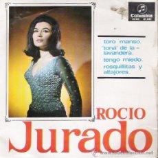 Dischi in vinile: SINGLE DE ROCÍO JURADO, DE 1965. Lote 28141604