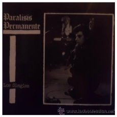 Discos de vinilo: PARALISIS PERMANENTE - LOS SINGLES - LP RARISIMO DE PUNK DE 1984 EN VINILO. Lote 28149373