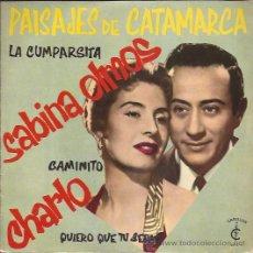 Discos de vinilo: EP-SABINA OLMOS-CARILLON 5-EDIC.ESPAÑOLA-. Lote 28150731