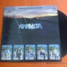 Discos de vinilo: LP AMANZORA MUÑECA DE OJOS OSCUROS (CONTIENE SU EXITO IRRESISTIBLE)1980. Lote 28152651