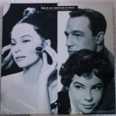 Discos de vinilo: GENE KELLY / MGM STUDIO ORCHESTRA - GIGI & AN AMERICAN IN PARIS - LP UK 1989. Lote 28154518