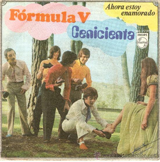 LP, FORMULA V - CENICIENTA - AHORA ESTOY ENAMORADO (Música - Discos - LP Vinilo - Grupos Españoles 50 y 60)