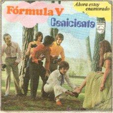 Discos de vinilo: LP, FORMULA V - CENICIENTA - AHORA ESTOY ENAMORADO. Lote 28159135