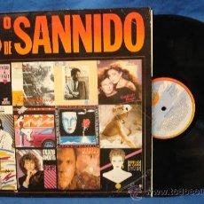 Discos de vinilo: - 38º DE SANNIDO- SANNI RECORDS 1985. Lote 28367162