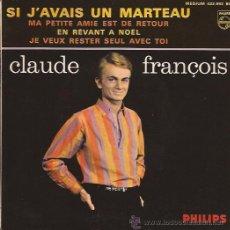 Discos de vinilo: EP-CLAUDE FRANCOISE-PHILIPS 432992-FRANCE--MY BOYFRIEND´S BACK-THE ANGELS COVER. Lote 28158445