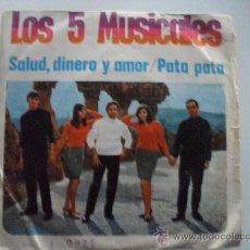 Discos de vinilo: LOS 5 MUSICALES - SALUD DINERO AMOR 1968. Lote 28177841