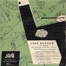 Discos de vinilo: SINGLE LINE RENAUD Y SU ORQUESTA. Lote 28187560