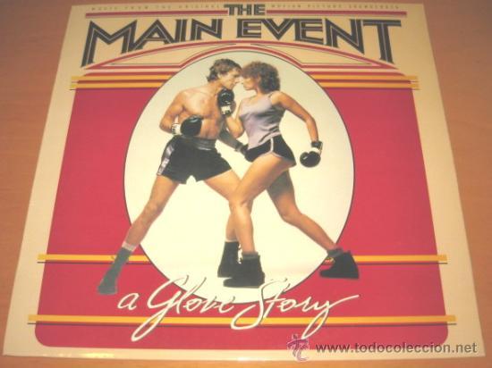 BSO THE MAIN EVENT - LP - CBS 1979 SPAIN 70171 - BARBRA STREISAND COMBATE DE FONDO (Música - Discos - LP Vinilo - Pop - Rock - New Wave Extranjero de los 80)