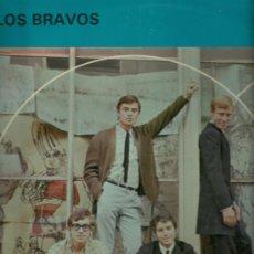 Discos de vinilo: LOS BRAVOS LP SELLO ECLIPSE EDITADO EN INGLATERRA. Lote 28194596