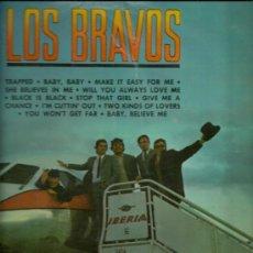 Discos de vinilo: LOS BRAVOS LP SELLO COLUMBIA AÑO 1966. Lote 28194605