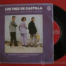Discos de vinilo: LOS 3 DE CASTILLA - CHIRPY CHIRPY CHEEP CHEEP - SINGLE. Lote 28199467