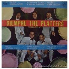 Discos de vinilo: THE PLATTERS - SIEMPRE THE PLATTERS - LP ESPAÑOL DE VINILO DE 1962. Lote 33894089