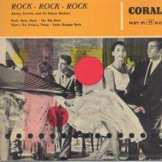 Disques de vinyle: JIMMY CAVELLO AND HIS HOUSE ROCKERS,ROCK ROCK ROCK. Lote 28216724
