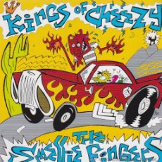 Discos de vinilo: SINGLE EP THE SMELLIE FINGERS KINGS OF CHEEZY GARAGE CRYPT. Lote 28221099