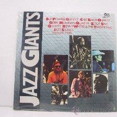 Discos de vinilo: JAZZ GIANTS - BUD POWEL/CHET BAKER/ZOOT ZIMS...- DOBLE LP - PORTADA ABIERTA - PRECINTADO!! - ITALIA. Lote 28222343