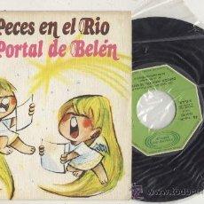Discos de vinilo: SINGLE 45 RPM / PECES EN EL RIO // EDITADO POR MOVIEPLAY. Lote 28232373