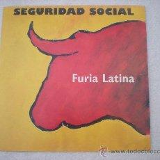 Discos de vinilo: SEGURIDAD SOCIAL – FURIA LATINA_LP VINILO EDICION ALEMANA_1993. Lote 28233442