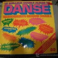 Discos de vinilo: LP DE DANSE. LE MEILLEUR DOUBLE ALBUM DE DANSE. VOL. 2. 2 DISCOS.. Lote 28234317