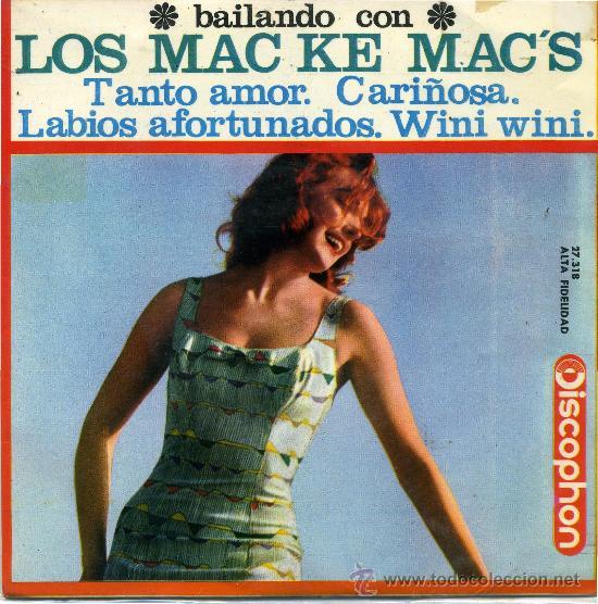 LOS MAC KE MACS (Música - Discos - Singles Vinilo - Grupos Españoles 50 y 60)