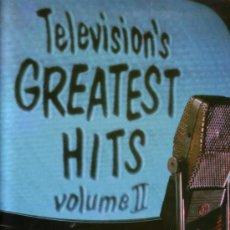 Discos de vinilo: TELEVISON`S GREATEST HITS AÑOS 50 Y 60 GRANDES EXITOS SERIES TV TELEVISION AÑOS 50 Y 60 LP DOBLE. Lote 28237537