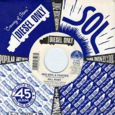 Discos de vinilo: WILL RIGBY – RED BRA & PANTIES EP VINILO AZUL 1993. Lote 28239951