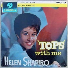 Discos de vinilo: LP HELEN SHAPIRO: TOPS WITH ME, ORIGINAL INGLES MONO. Lote 28263660